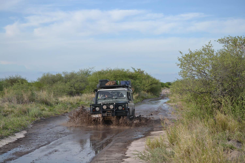 Overland 4x4 tours of Botswana