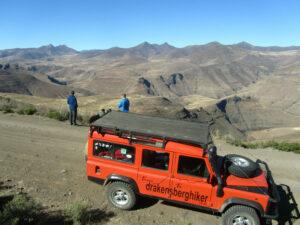 Sani pass to Thabana Ntlenyana