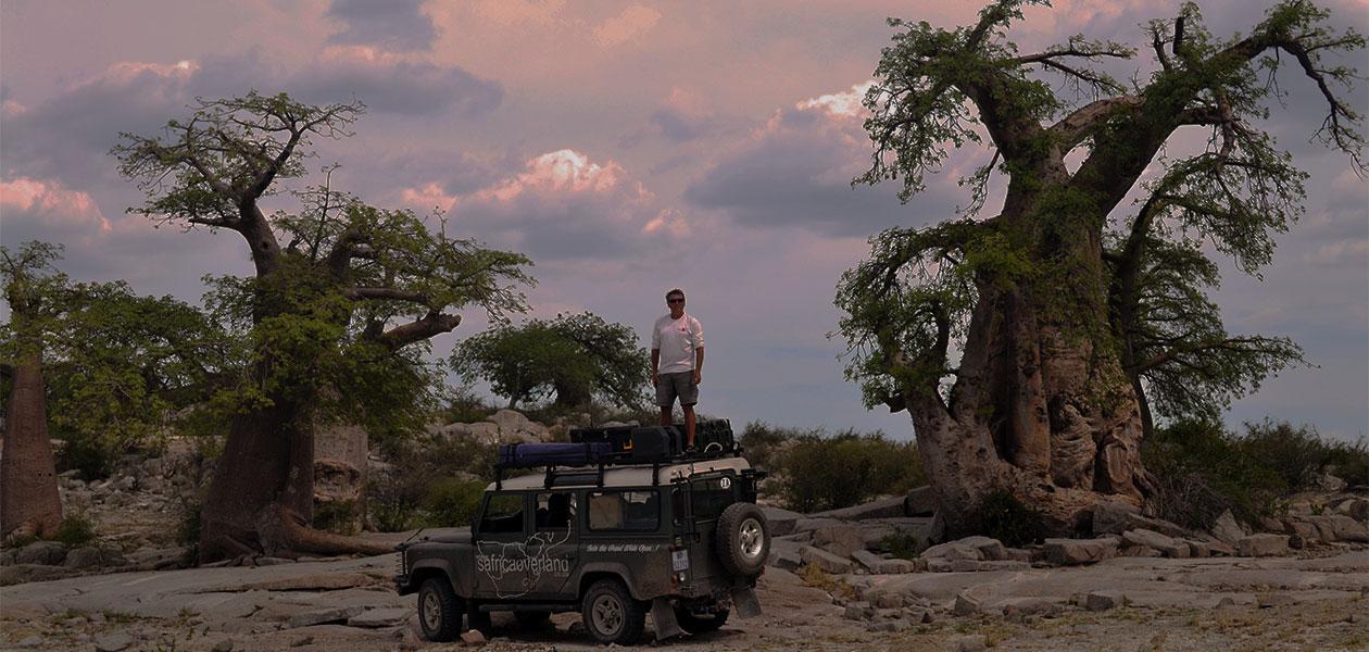 SA Overlander Botswana Baobab