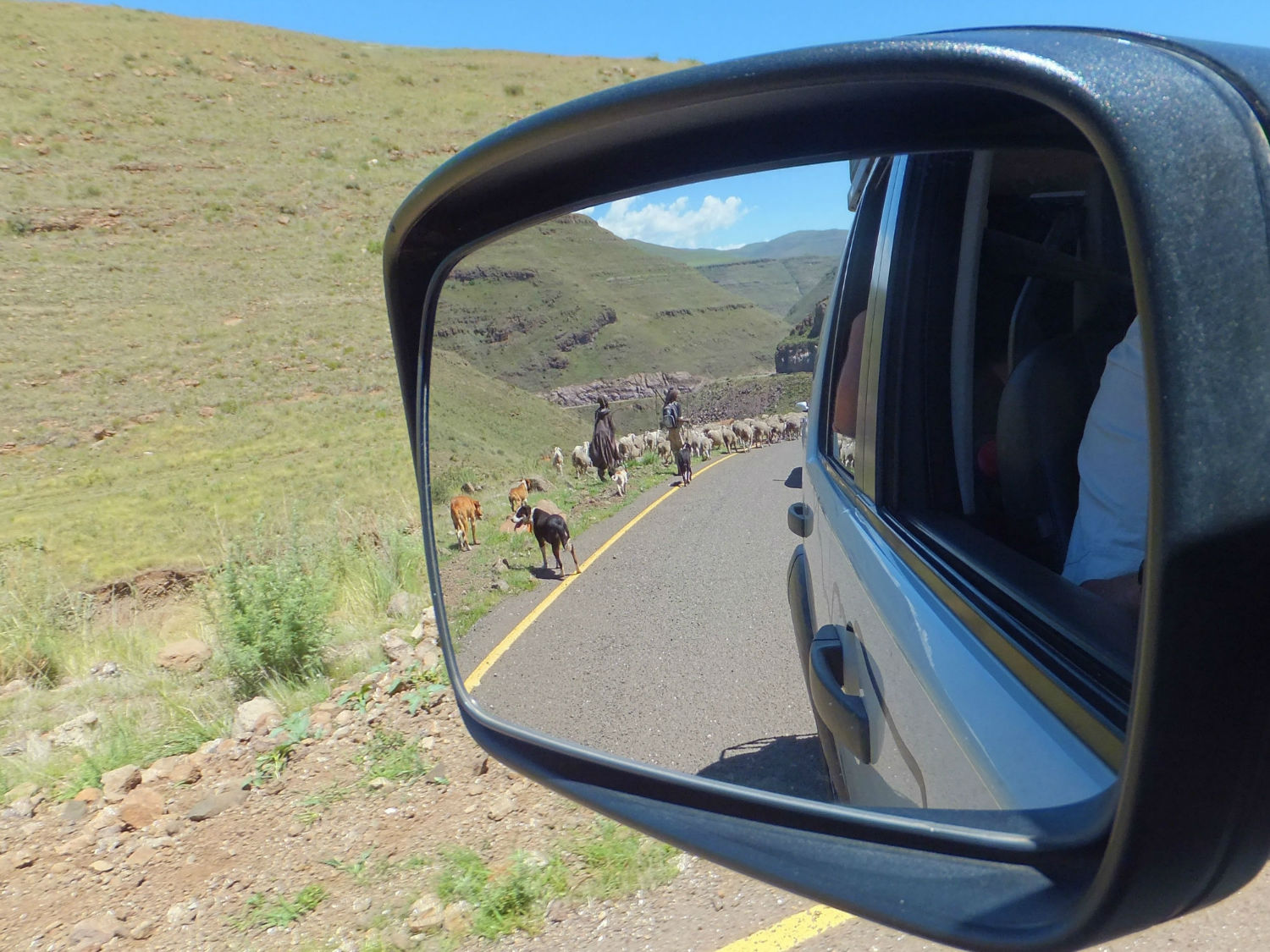 Basotho Shepherds in Lesotho, roads in Lesotho with South Africa Overland 4x4 Tours