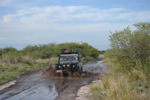 Overland 4x4 tours of Botswana