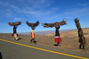 Women in Lesotho, with South Africa Overland 4x4 Tours