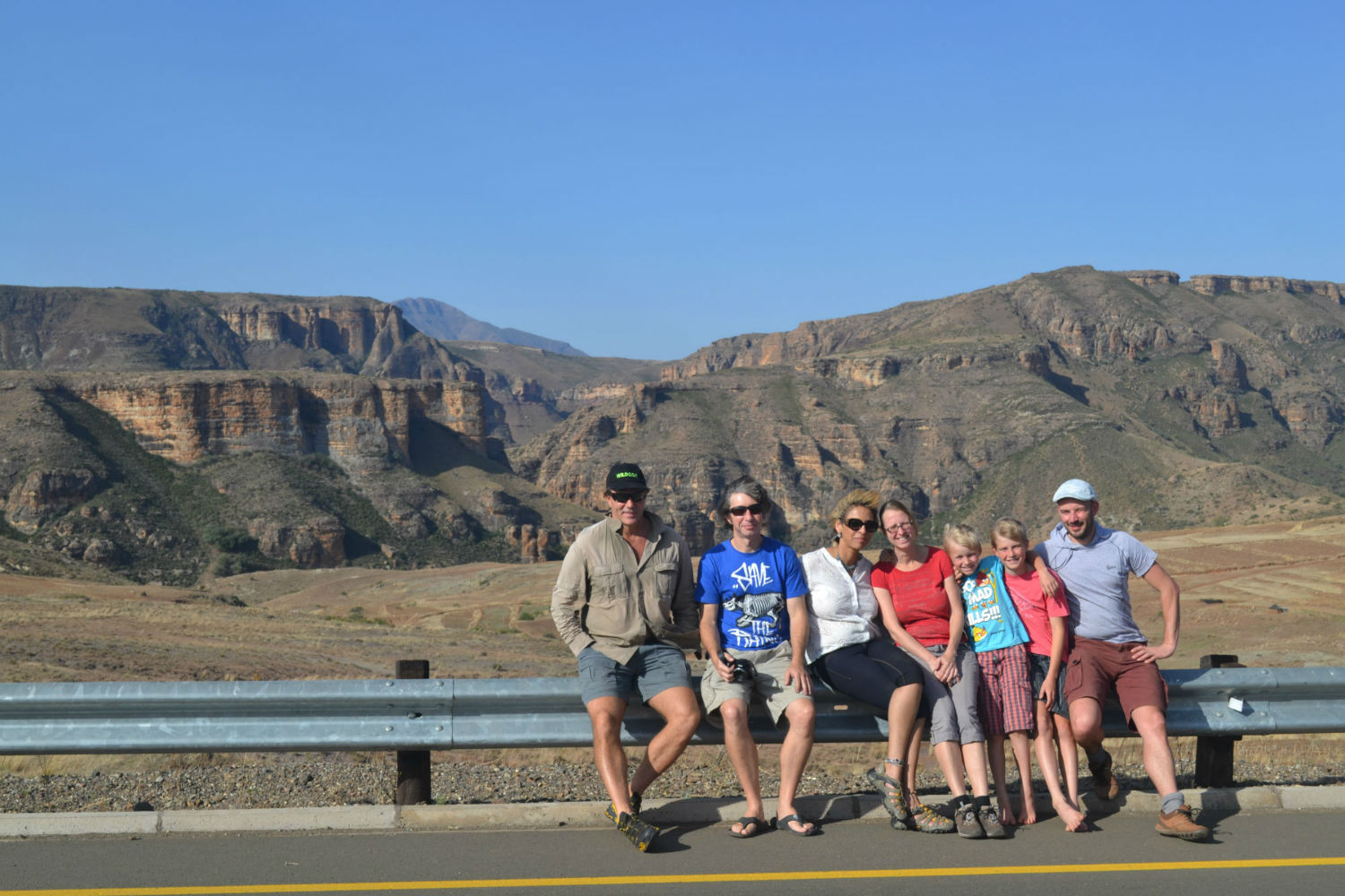 Chilling on the road with South Africa Overland 4x4 Tours
