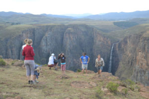 Maletsunyana Falls, Lesotho with South Africa Overland 4x4 Tours