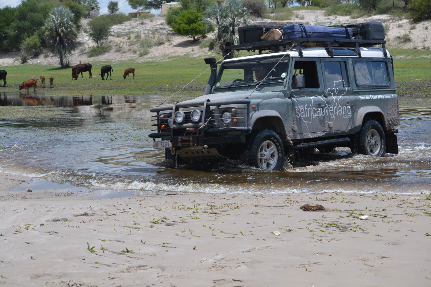 Able Landys in action with South Africa Overland 4x4 Tours