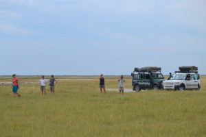 Botswana Landscape with South Africa Overland 4x4 Tours