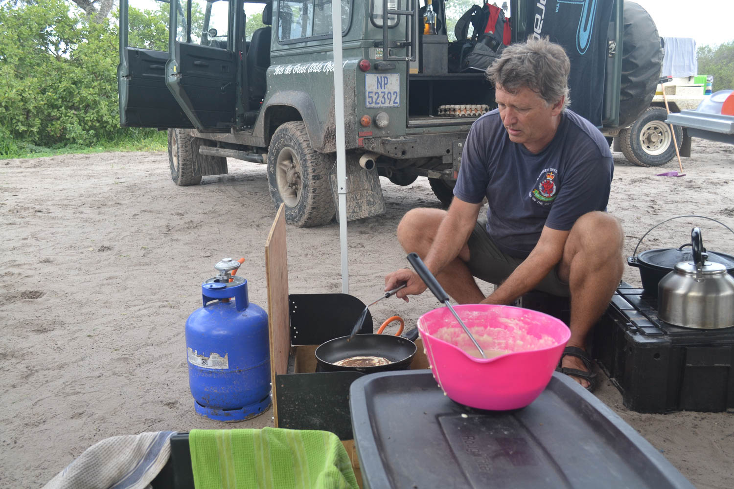 We take care of all your meals with South Africa Overland 4x4 Tours