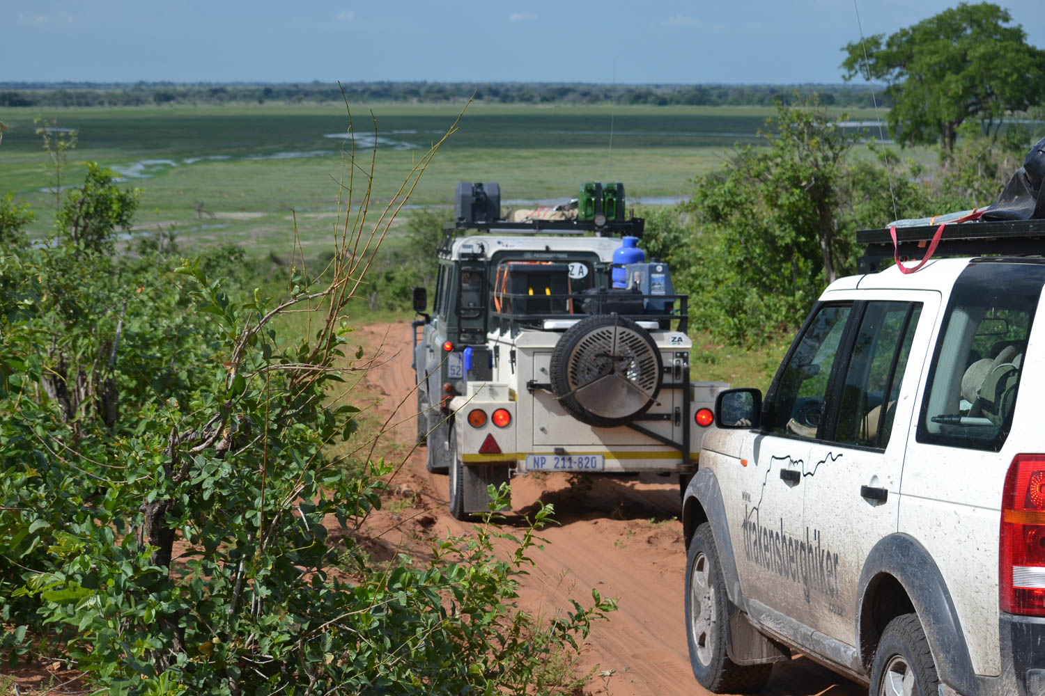 On the road, touring Southern Africa with South Africa Overland 4x4 Tours