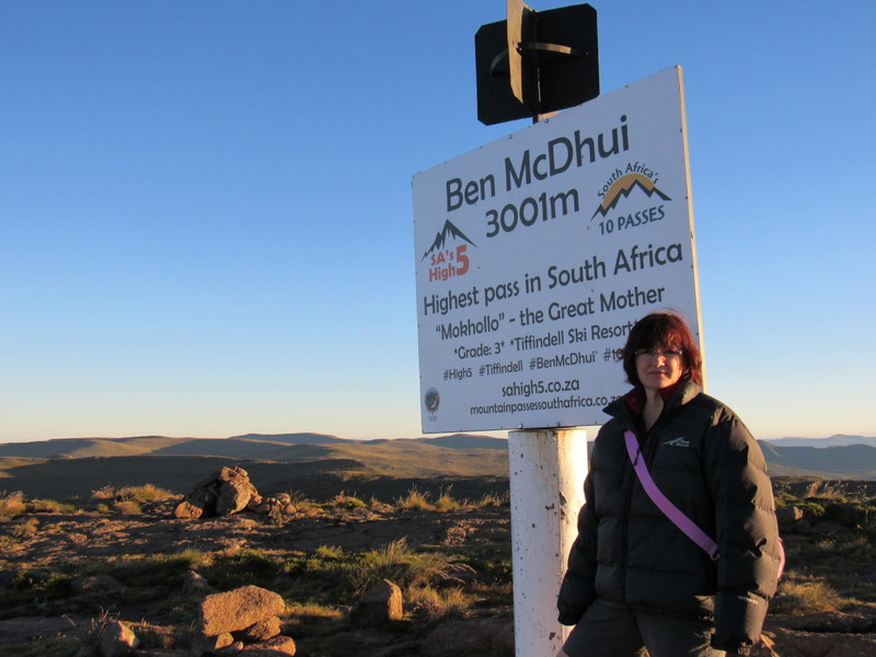 Ben McDhui Pass with South Africa Overland