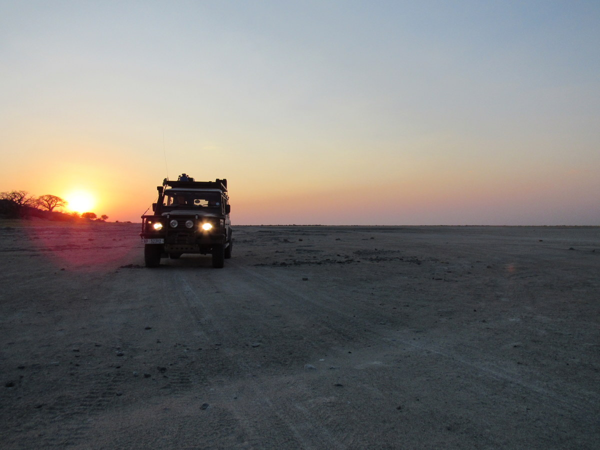Botswana safari overland tour
