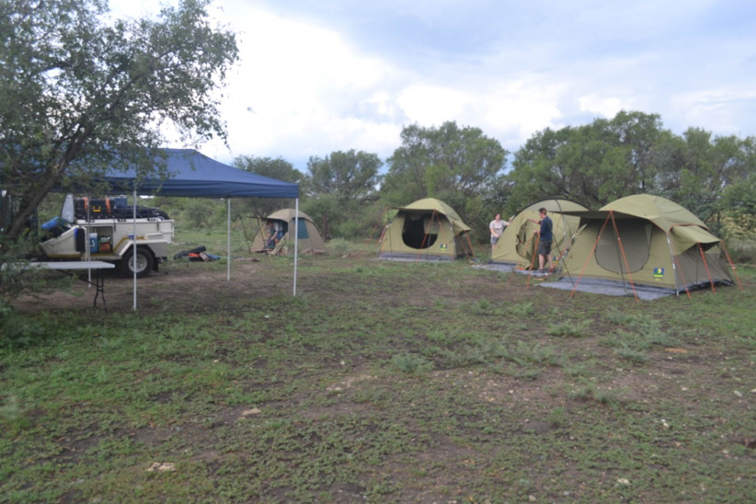 Well organised and comfortable camping with South Africa Overland 4x4 Tours