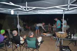 Campfire cooking with South Africa Overland 4x4 Tours