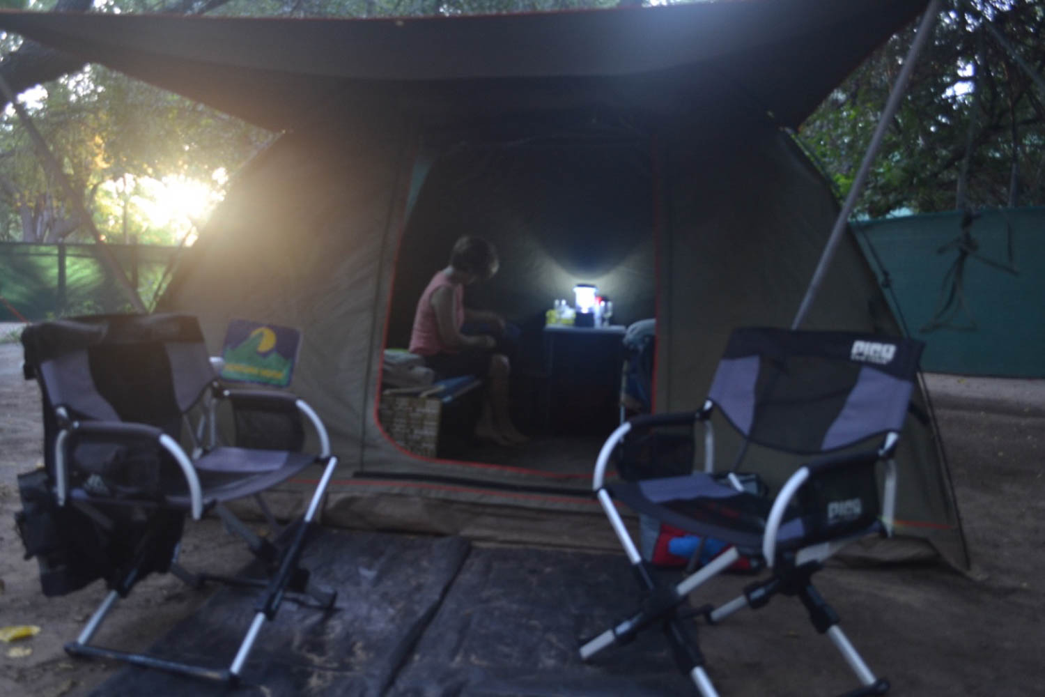 Comfortable camping with South Africa Overland 4x4 Tours