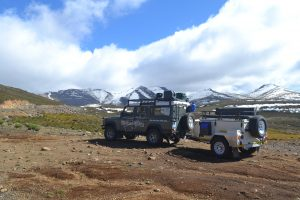 Southern Africa Overland Landys in Lesotho