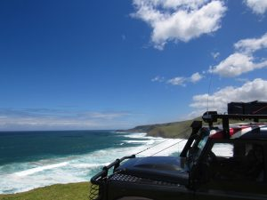 Overland 4x4 tour of the Wild coast and Drakensberg mountains