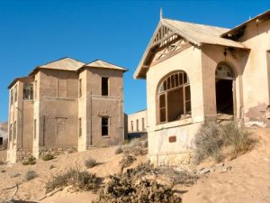 Southern Africa Overland 4x4 - Namibia, Kolmanskop Ghost Town