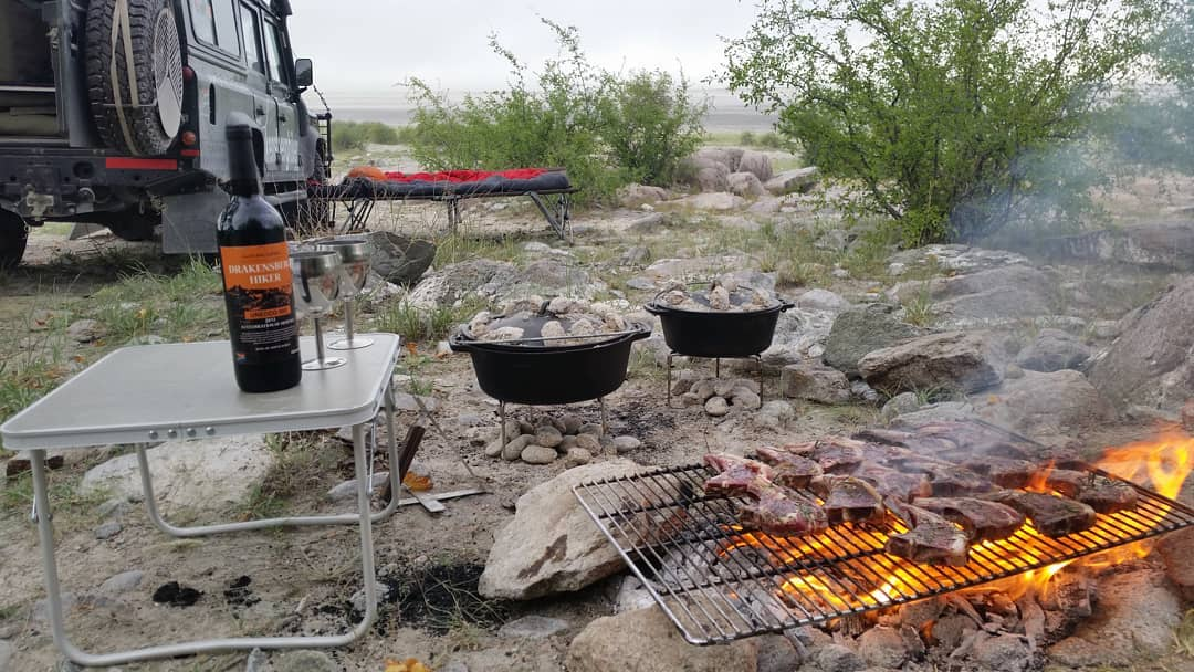 Meals with African Overland 4x4 Tours are special!