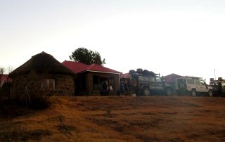 Overland tour of Lesotho